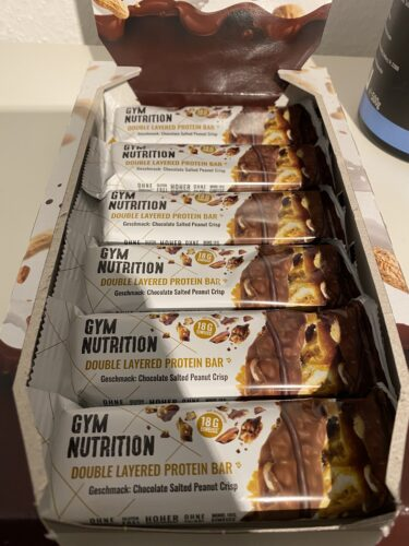 GYM NUTRITION HIGH PROTEIN RIEGEL photo review